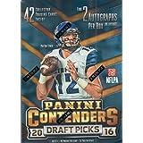 2016 Panini Contenders NFL Draft Picks Football Unopened Blaster Box of Packs with 2 Guaranteed Autographs Per Box