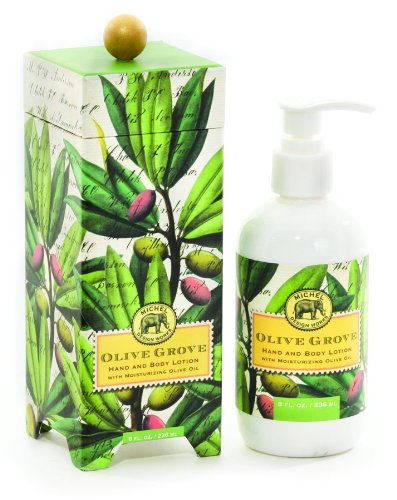 - Michel Design Works Hand and Body Lotion 8-Ounce, Olive Grove