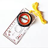 Denshine Professional Compass, Multi-function, map, ruler, for outdoor