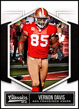 e84a2b572b0 2010 Panini Classics  85 Vernon Davis NM-MT San Francisco 49ers Official NFL  Football