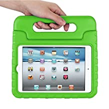 Apple iPad mini 4 Kids Case,Ocuya Kiddie Series Shockproof Case Light Weight Case With Handle for Apple iPad mini 4 (iPad mini 4, green)