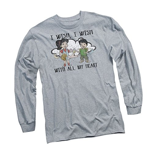 """...I Wish With All My Heart"" -- Dragon Tales Adult Long-Sleeve T-Shirt"