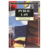 Public Law, Andrew Le Sueur and Maurice Sunkin, 0582087309