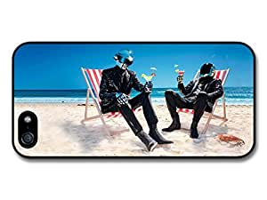 Daft Punk Cocktails Sitting on the Beach Case For HTC One M8 Cover