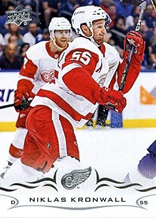 c565a808d21 2018-19 Upper Deck  319 Niklas Kronwall Detroit Red Wings Hockey Card