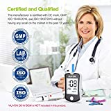 AUVON Blood Glucose Test Strips (150 Count) for use with AUVON DS-W Diabetes Sugar Testing Meter