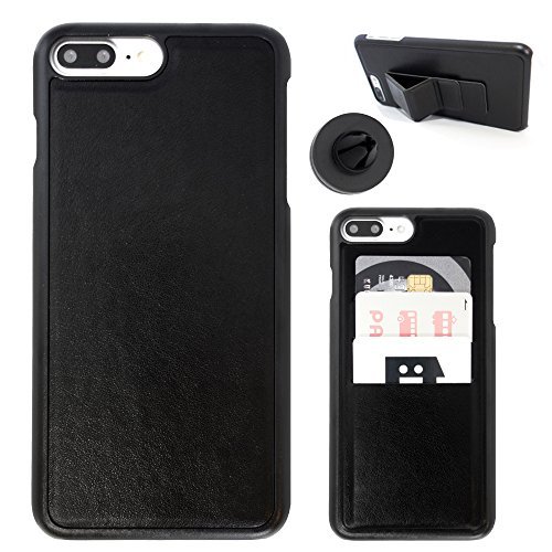 SenseAGE Magic Magnetic Combo Case/ Car Amount, Phone Wallet, Protective Case, Portable Phone Stand ALL Included (for iPhone 8 Plus)