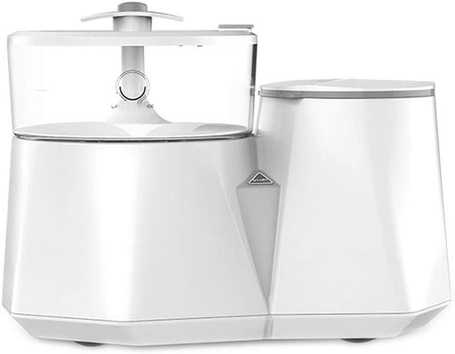 GSAGJxyj パンティー洗濯機-自動高温調理および滅菌女性洗濯機ミニクリーニング下着(白)