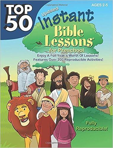 Top 50 Instant Bible Lessons for Preschoolers: RoseKidz, Lindsey ...