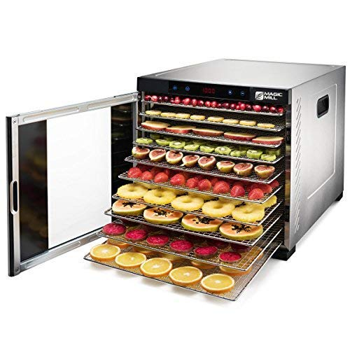 Magic Mill Commercial pro Xl Stainless Steel 10 Tray Food an