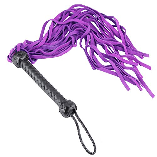 MSsmart (TM) Soft Suede Leather Floggers and Whips for Co...