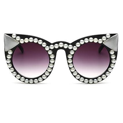 Lvminhm Gafas de Sol de Diamantes de imitación Hechas a Mano ...
