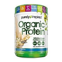Purely Inspired organic protein powder, vanilla, 1.1 pound
