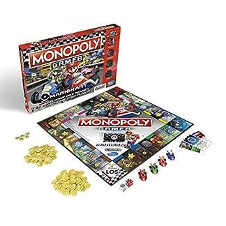 Monopoly Gamer Mario Kart, Gesellschaftsspiel für Erwachsene & Kinder, Familienspiel, der Klassiker der Brettspiele, Gemeinschaftsspiel für 2 - 4 Personen, ab 8 Jahren 9