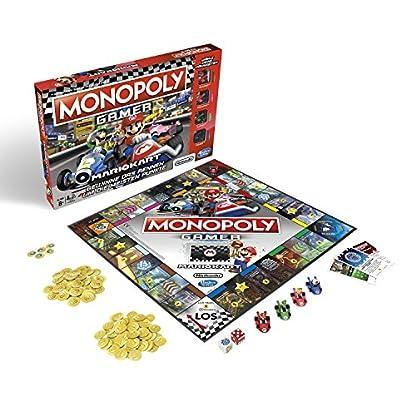 Monopoly Gamer Mario Kart, Gesellschaftsspiel für Erwachsene & Kinder, Familienspiel, der Klassiker der Brettspiele, Gemeinschaftsspiel für 2 - 4 Personen, ab 8 Jahren 1