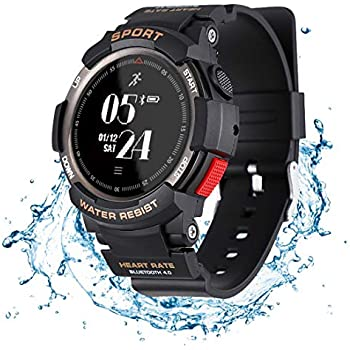 Amazon.com: Fitness Tracker Watch Waterproof IP 67 Smart ...