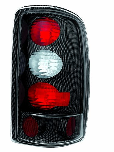 IPCW CWT-CE304CF Crystal Eyes Carbon Fiber Barn Doors and Lift Gate Tail Lamp - Pair