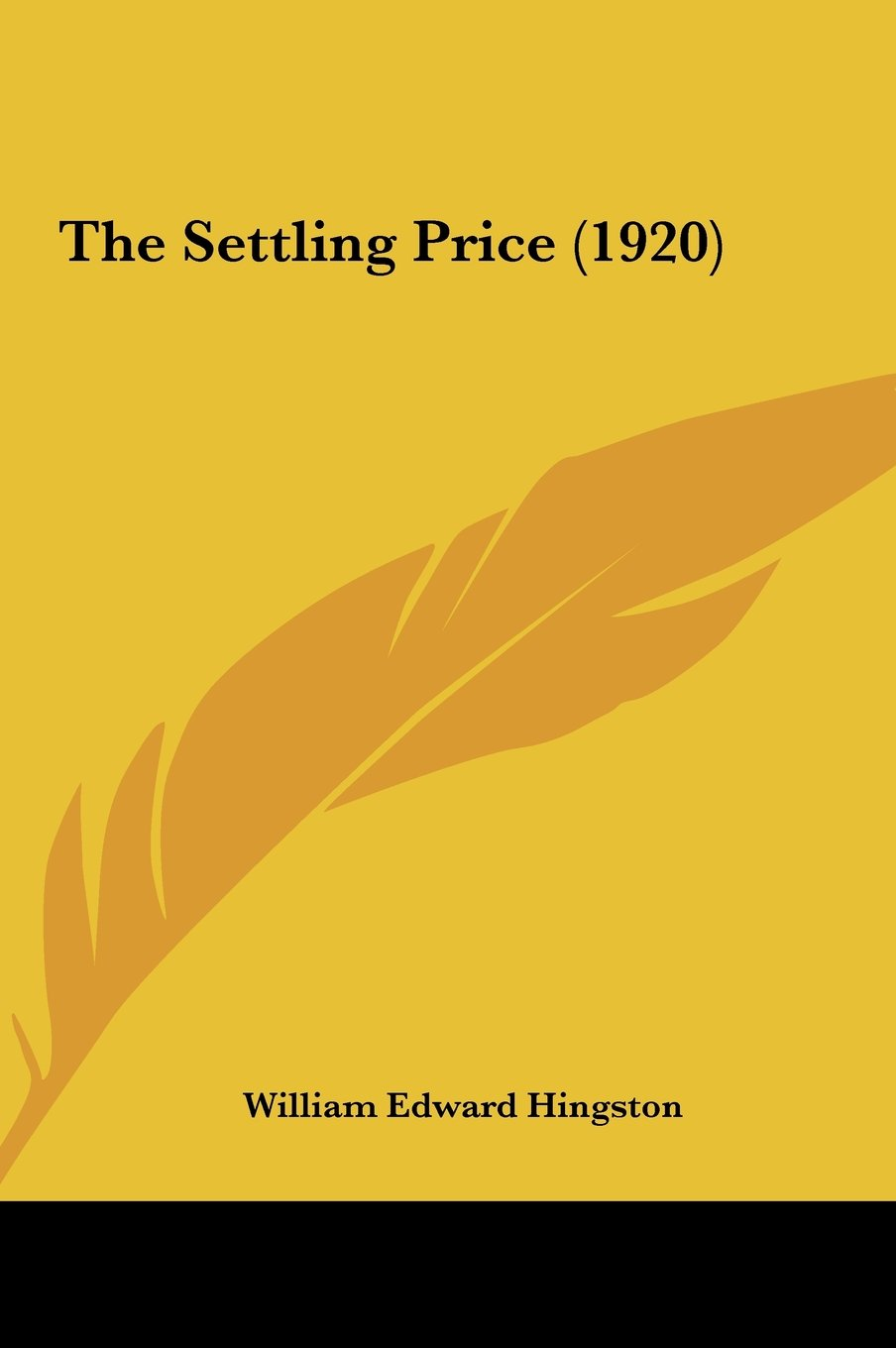 The Settling Price (1920) pdf epub