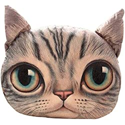 Black Temptation Cat Pillow Washable Cushion Christmas Gift Fashion Pillow Gray