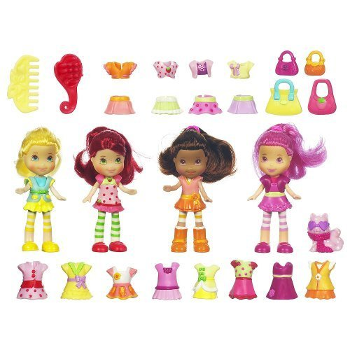 (Strawberry Shortcake Mix & Match Fashions 30+ Piece Exclusive Set)