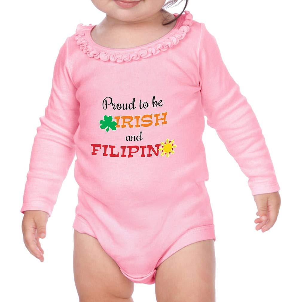 Amazon.com: Bonito traje de manga larga para bebé, diseño de ...