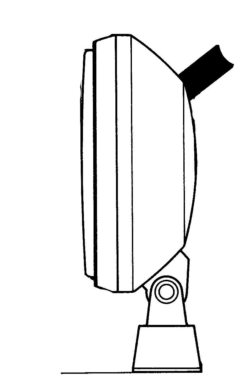 Halogen HELLA 1G8 002 340-001 Arbeitsscheinwerfer f/ür weitreichende Ausleuchtung Anbau rund 12V//24V