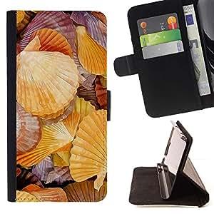 For Samsung Galaxy Core Prime / SM-G360 Case , Romántica Biología Mar Mar- la tarjeta de Crédito Slots PU Funda de cuero Monedero caso cubierta de piel