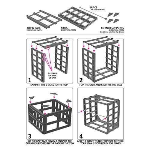 westonboxes A4/scatola Stak