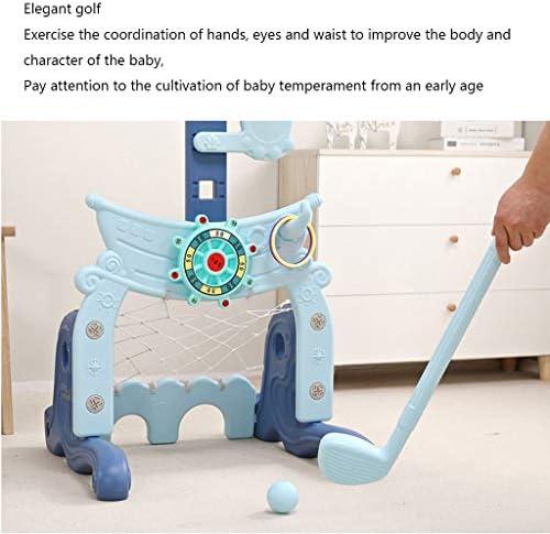 子供のバスケットボールは、屋内を上げるとフレーム幼児のおもちゃを撮影1-2-3歳の男の赤ちゃんのホーム子供を低下させることができるラック