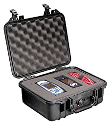 Pelican 1400 Case with Foam for Camera (Orange)