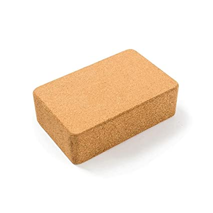 Amazon.com: Yoga Brick High-Density Natural Cork Beginner ...