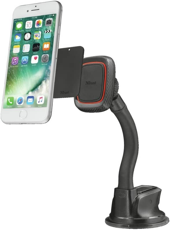 Trust Urban Veta Premium Phone Holder for Car Windshield