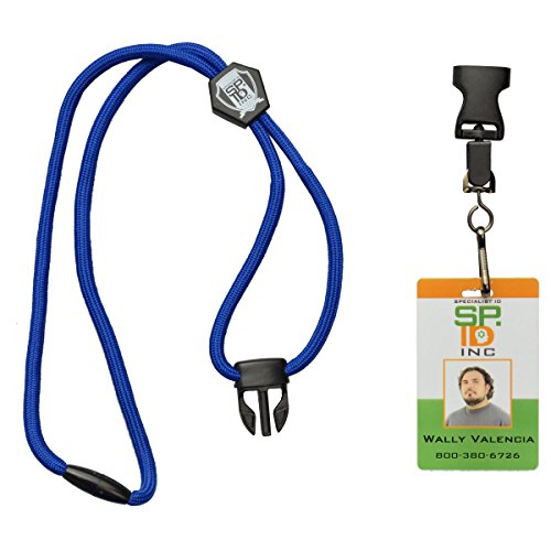Royal Blue ULTIMATE Breakaway Lanyard. Ideal For Holding ID Cards/Keys/Badge Reels by Specialist ID, Sold Individually Photo #4