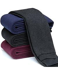 Girls Winter Warm Fleece Lined Elastic Waist Thick Leggings