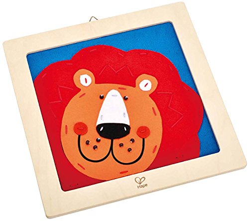 Hape Laughing Lion Kid's Embroidery Kit