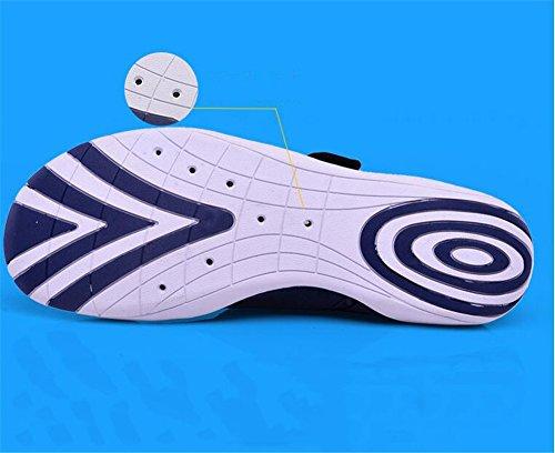 Dimensioni Donne morbida Fare a MSFS Snorkeling da Sport acqua Unisex Uomini 35 Spiaggia blue Scarpe Yoga 45 surf da Suola pdqqR6w