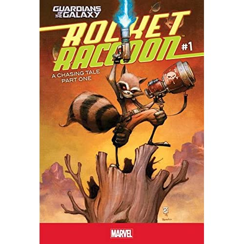 A Chasing Tail Part One 1 (Guardians of the Galaxy: Rocket Raccoon) (Library Binding)