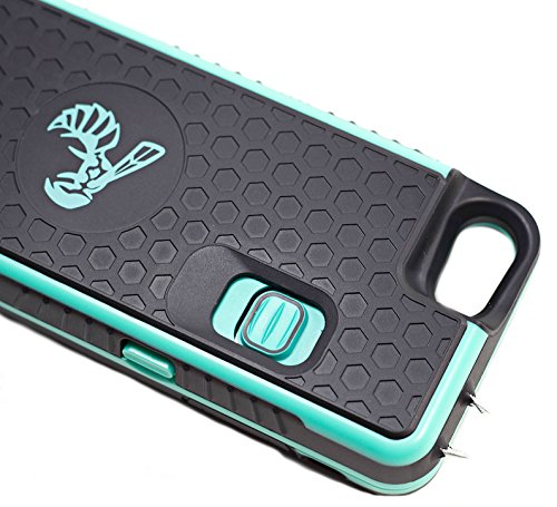 Yellow Jacket High-Powered Stun Gun iPhone 7,7s,8 Case, Protects Phone - Extends Life of Battery - Stun Gun Concealed Inside a Durable and Detachable Weatherproof Cellphone Case