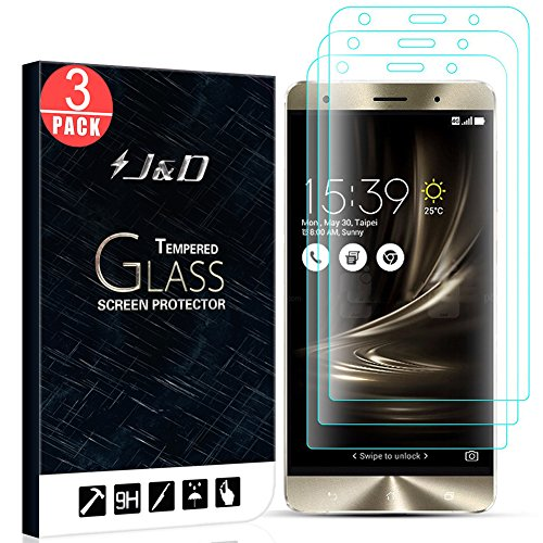 Tempered Glass Screen Protector for Asus Zenfone 3 5.5 - 7