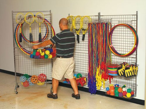 - Sportime 30028 User-supplied Hardware GridWorks Wall