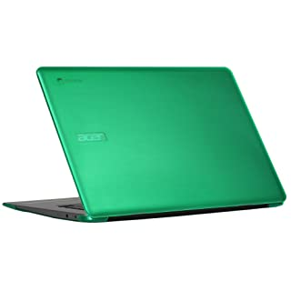 "mCover Hard Shell Case for 15.6"" Acer Chromebook 15 CB515 Series (NOT Compatible with Older C910 / CB5-571 / CB3-531 Series) Laptop (Green)"