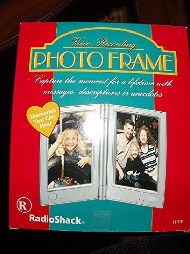 Amazon.com : Radio Shack Voice Recording Frame : Digital Picture ...