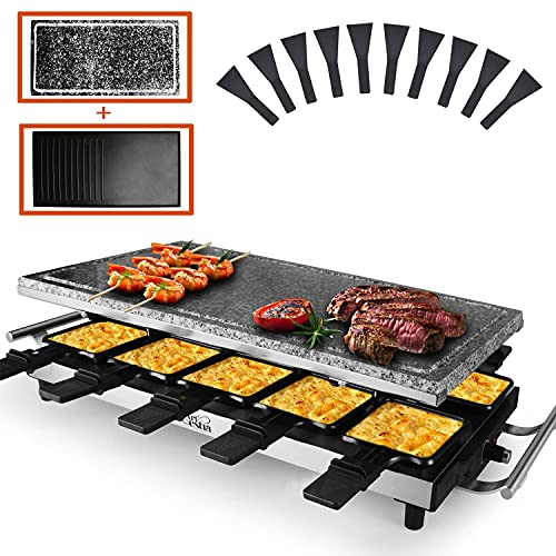 Non stick and Full Size Stone Reversible Aluminum Plate