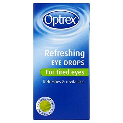 Optrex Refreshing Eye Drops for Tired Eyes, 10ml