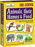 Creative Educational Aids 0621 Animals, Their Homes and Foods