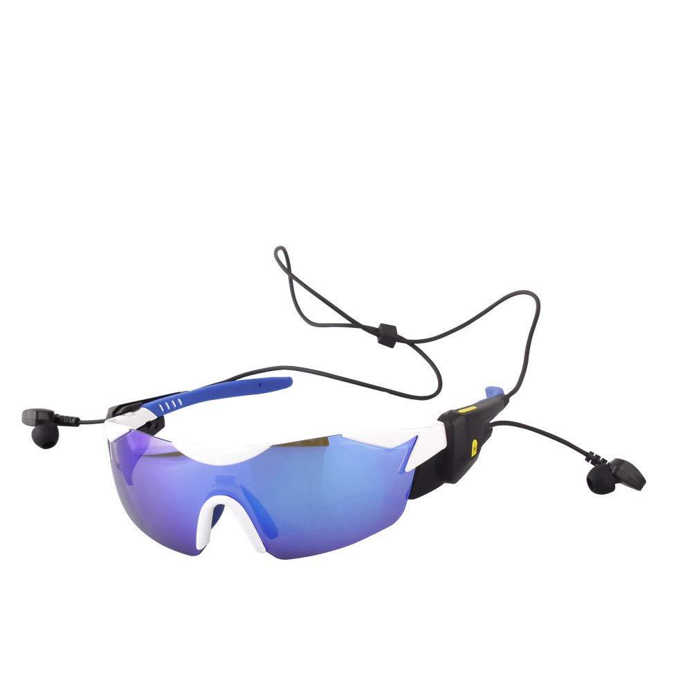 LLTS Blautooth-Smart-Sportbrillen V4.1 Stimme berichten Männer und Frauen im Freien polarisierte Fahrrad-Fahrradbrillen