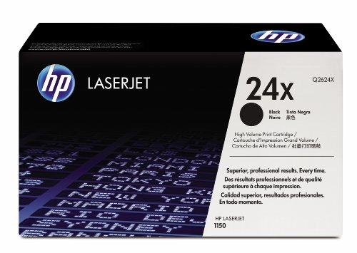 HP Laserjet 24X Black Cartridge in Retail Packaging (Q2624X)