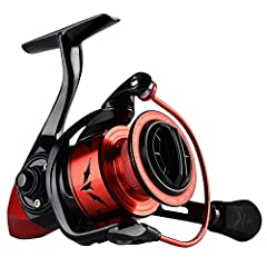 The new KastKing speed Demon spinning reel was made for high speed, consistent, and smooth operation. This is the fastest gear ratio spinning reel available today! it will turn the odds in your favor when facing tough conditions that require ...