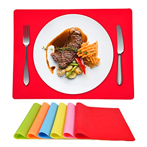 Sunlightfree Silicone Placemats for Children Multi Color Kids