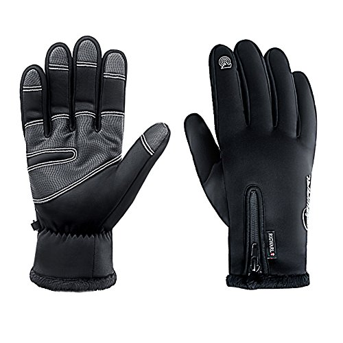 Cold Weather Motorcycle Gloves - 1